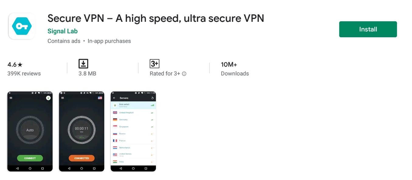 Secure VPN for Windows