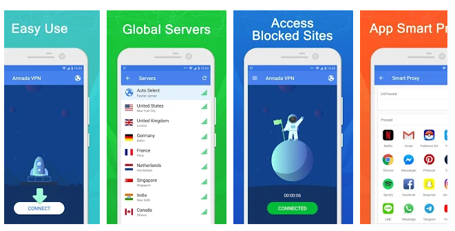 Armada VPN For PC