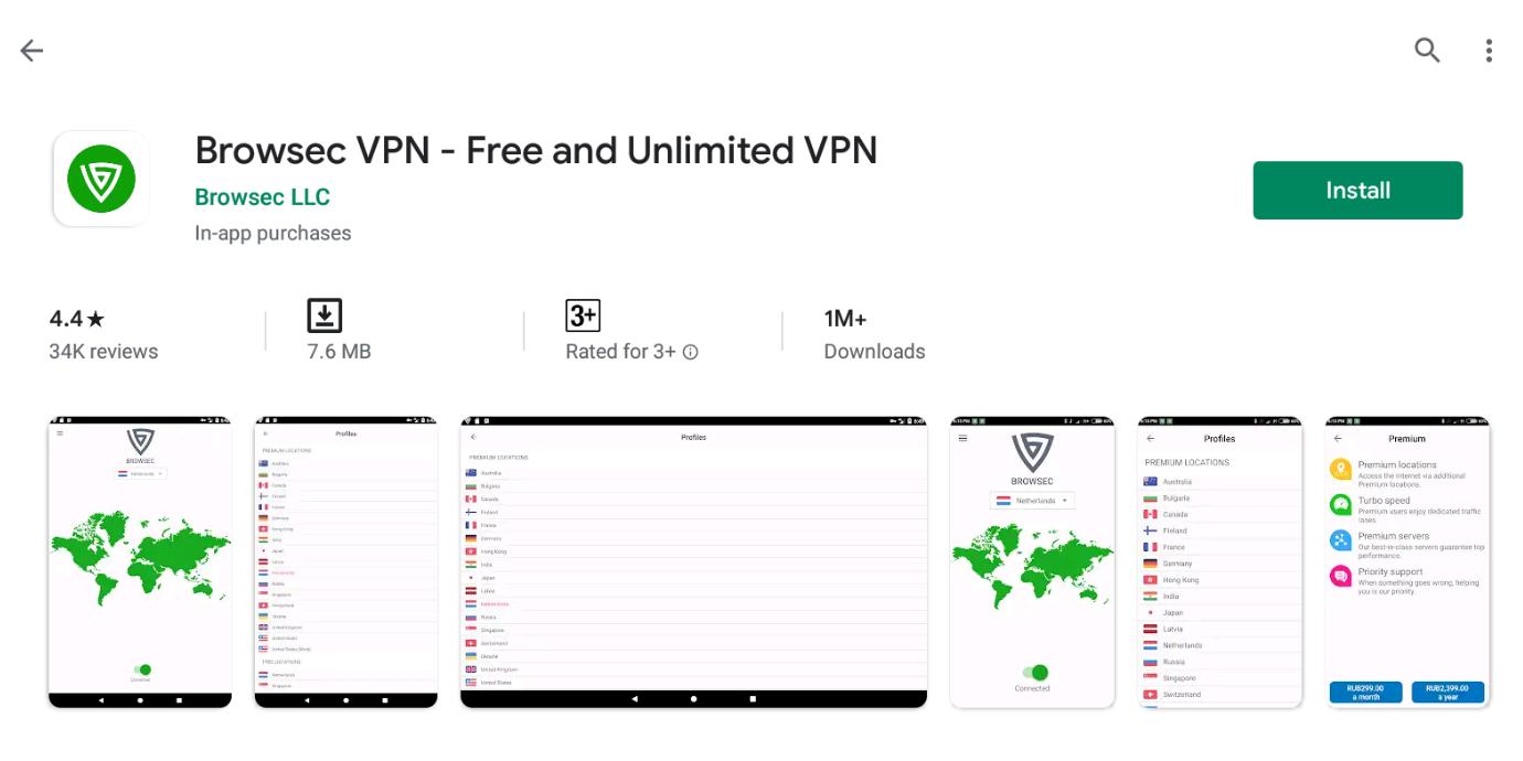Browsec VPN For Window