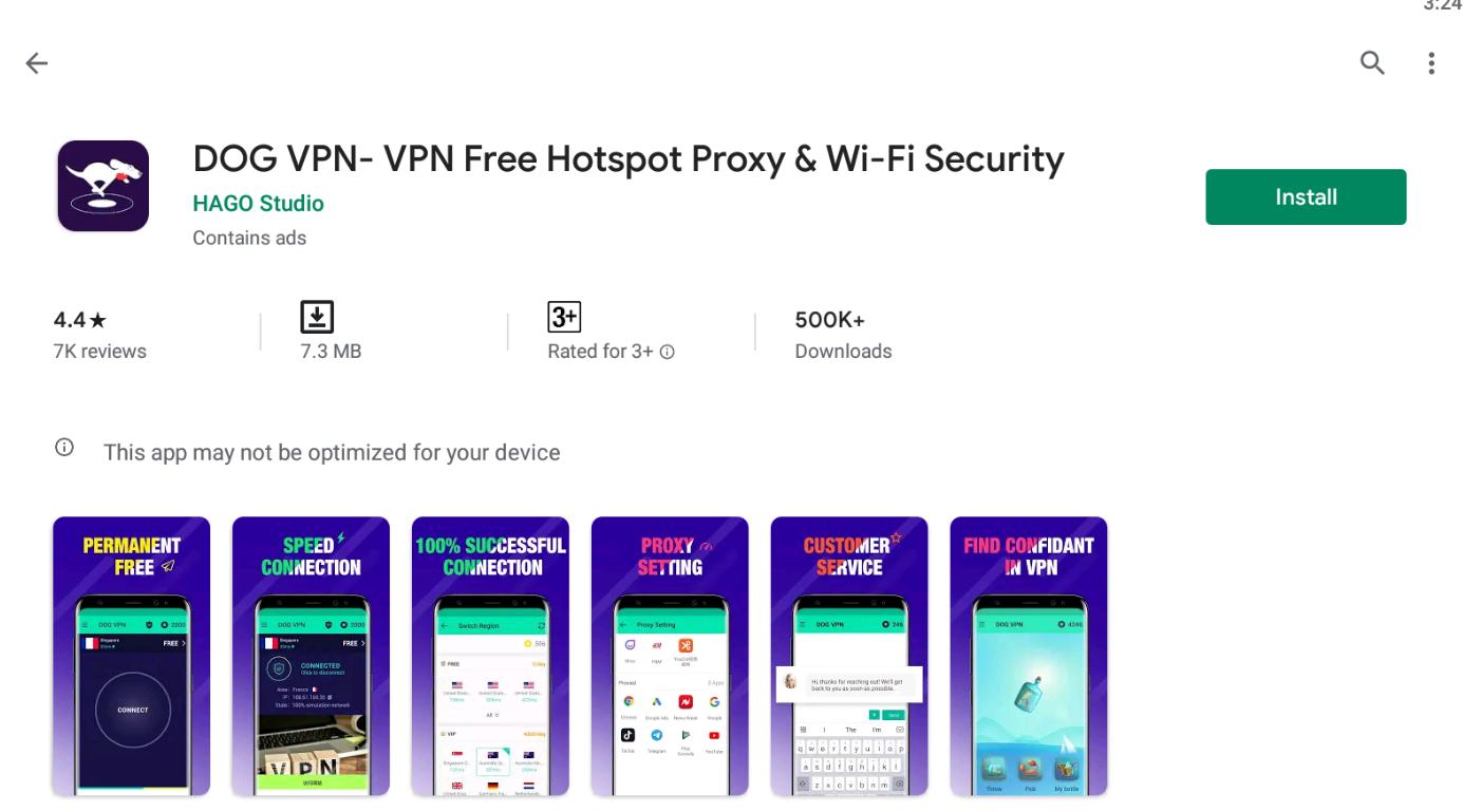 Dog VPN For Windows