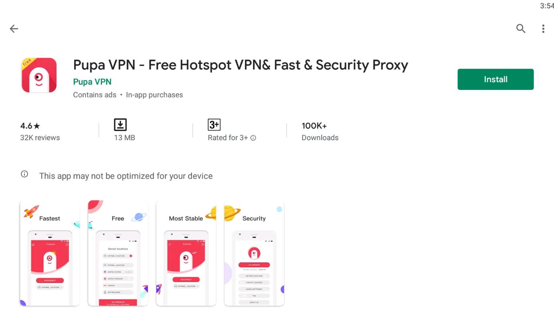 Pupa VPN For Mac
