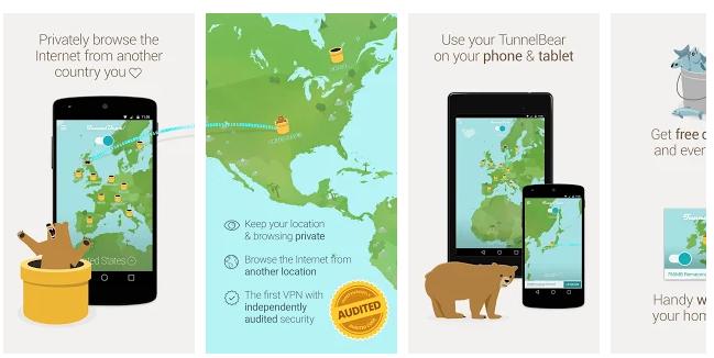 TunnelBear VPN For PC