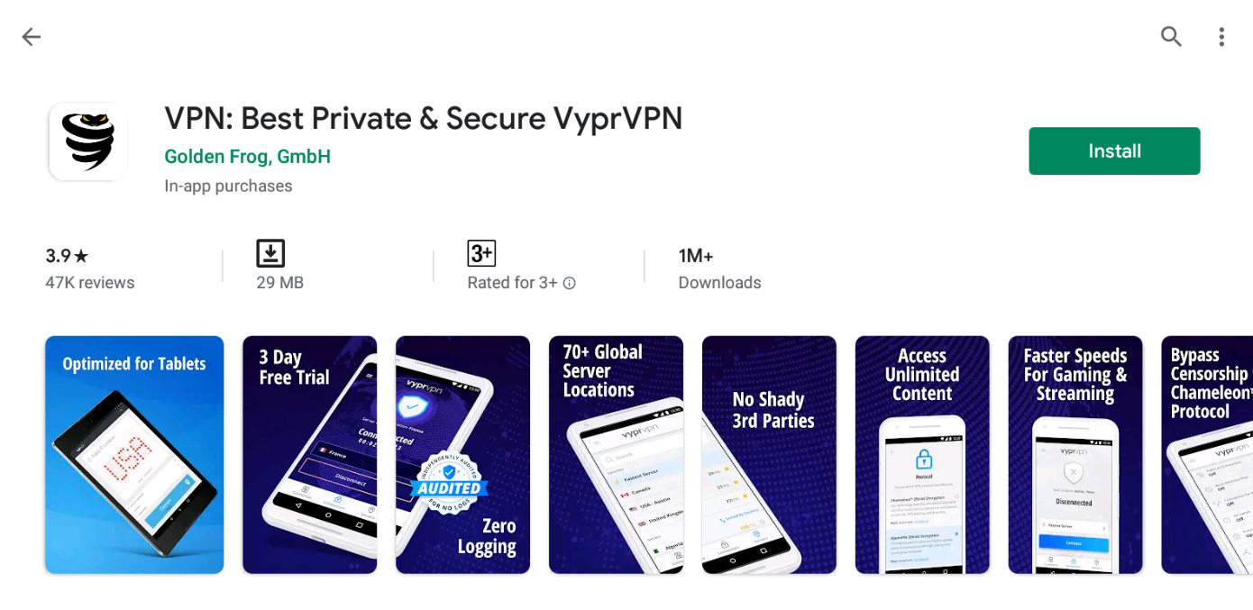 VyprVPN For Windows