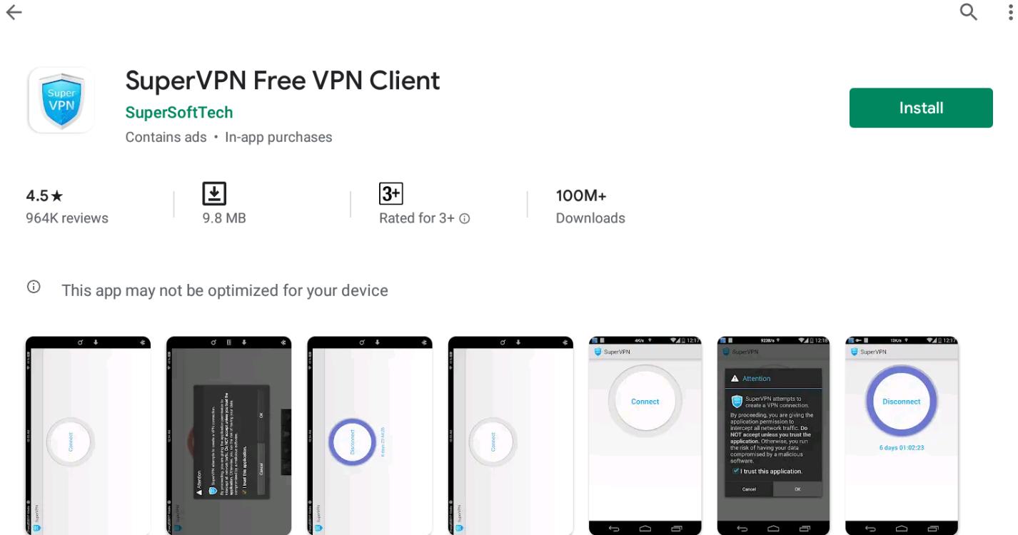 Super VPN for Windows