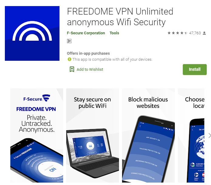 Buffered VPN for windows