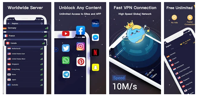 Surfree VPN for PC