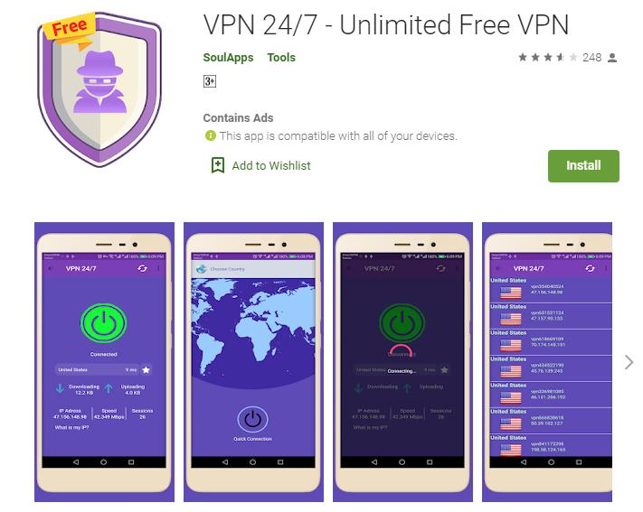 VPN 24 for windows