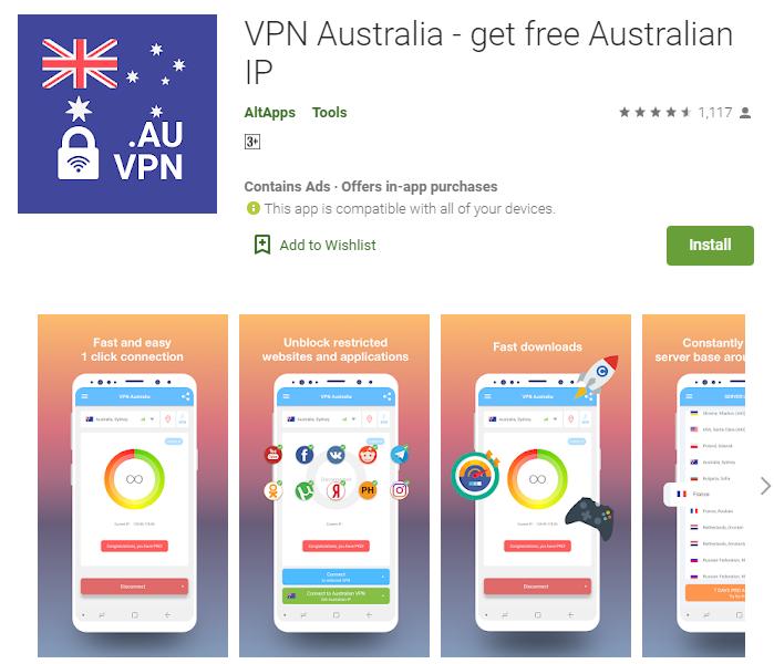 VPN Australia for windows