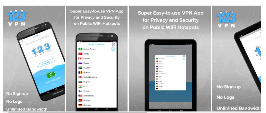 123 VPN for PC