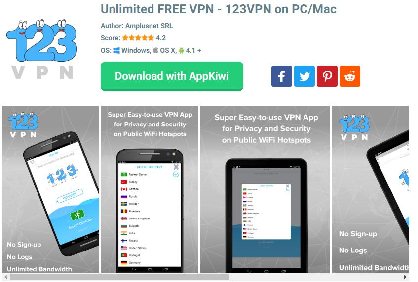 123 VPN for mac
