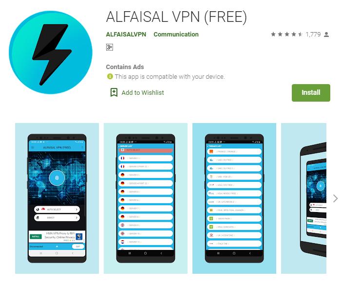 AlFaisal VPN for mac