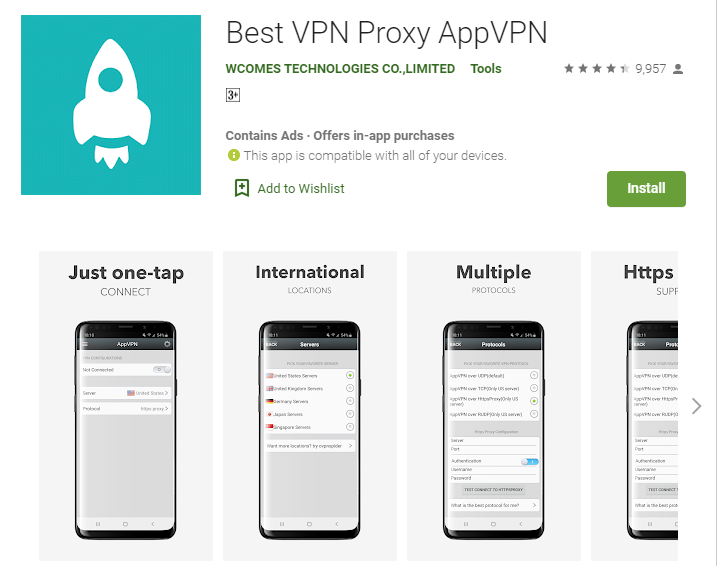 App VPN for mac