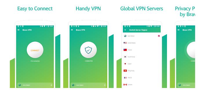 Brave Open VPN for PC
