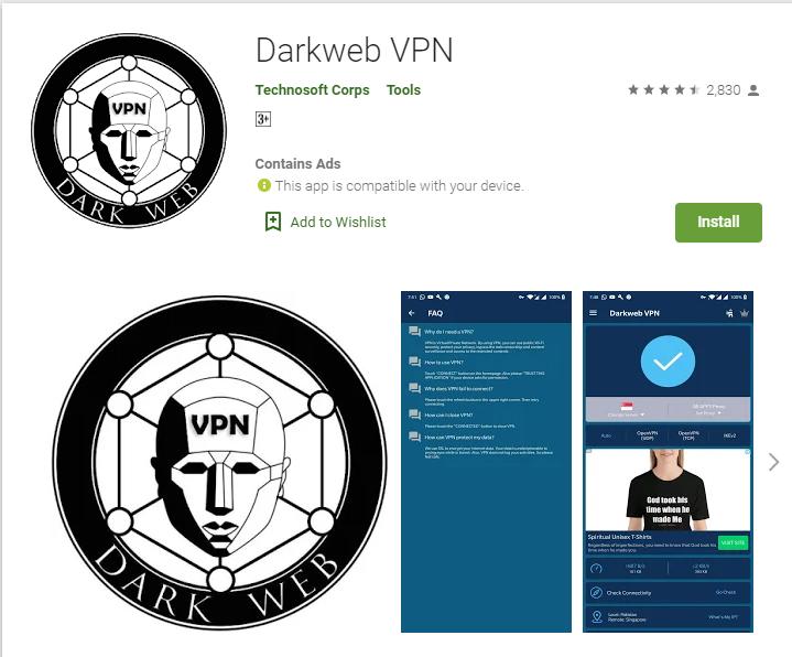 DarkWeb VPN for windows
