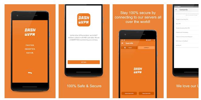 Dash VPN for PC