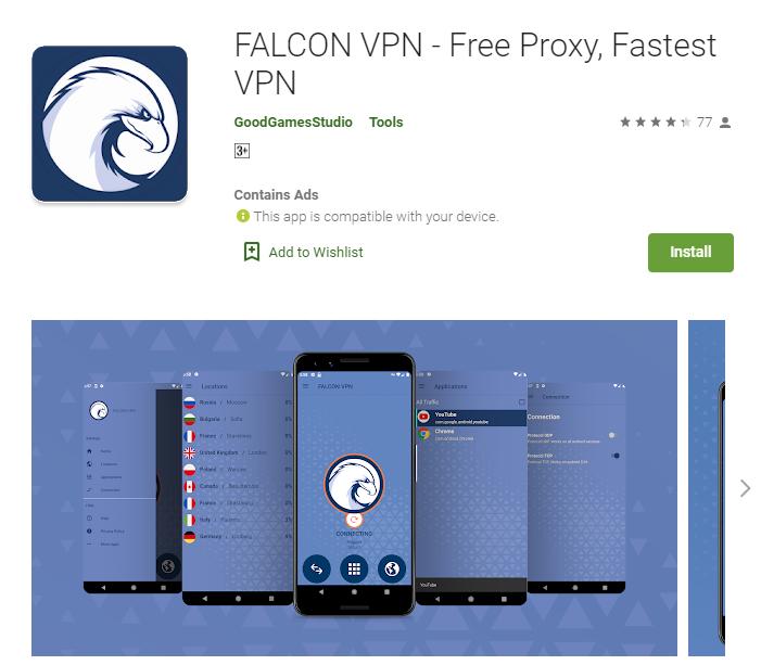 Falcon VPN for mac