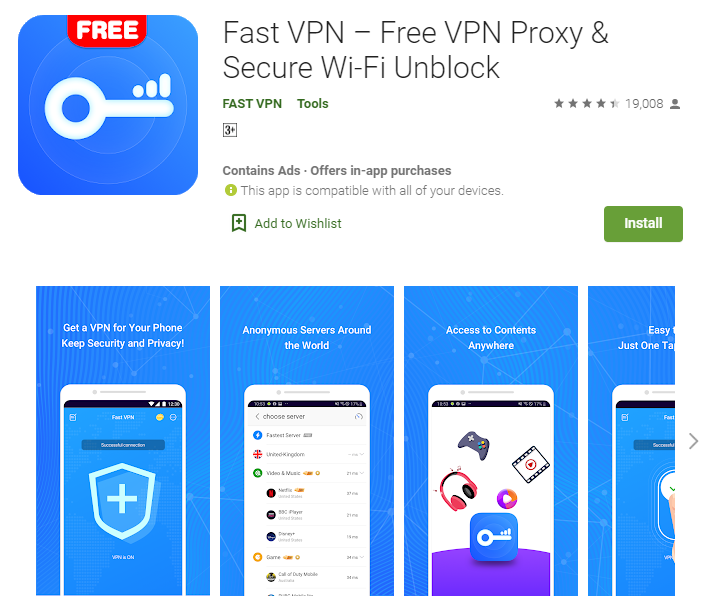 Fast VPN for mac