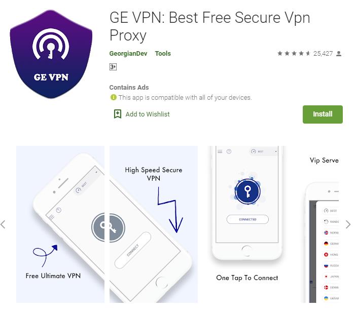 GE VPN for mac