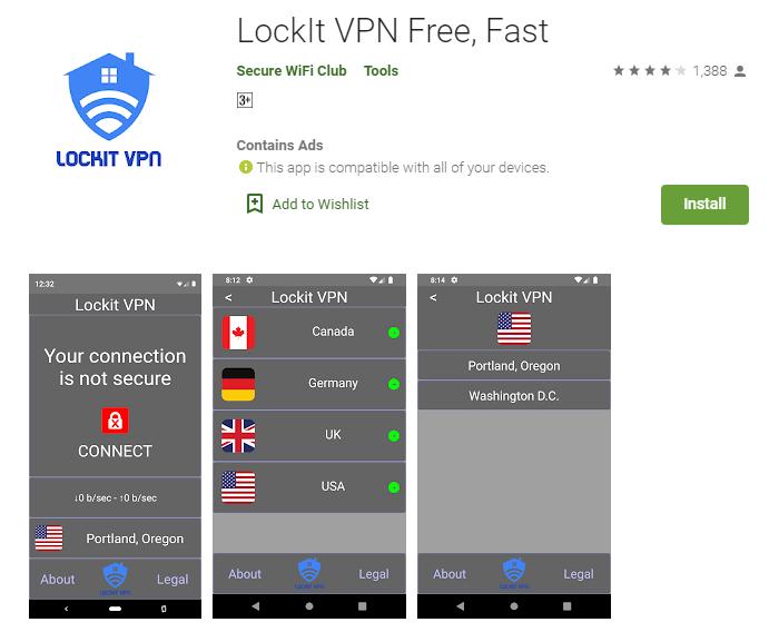 LockIt VPN For mac
