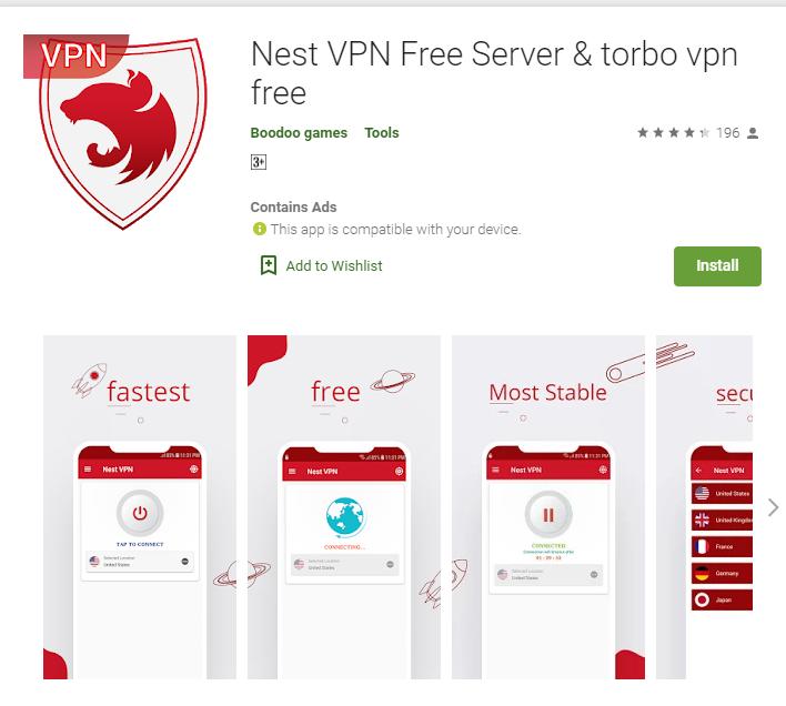 Nest VPN for windows