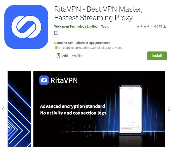 Rita VPN for mac