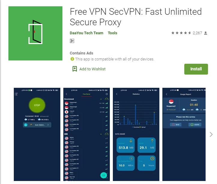 Sec VPN for PC