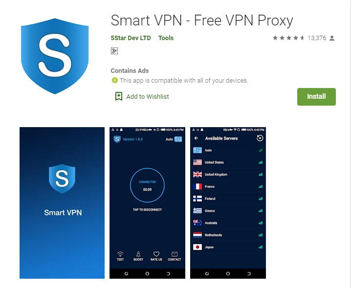 Smart VPN for windows