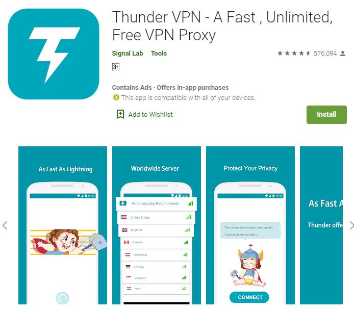 Thunder VPN for mac