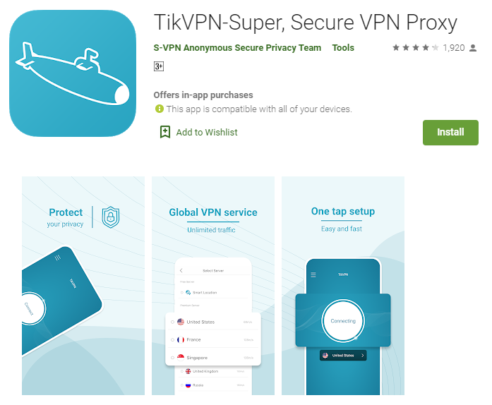TikVPN for mac