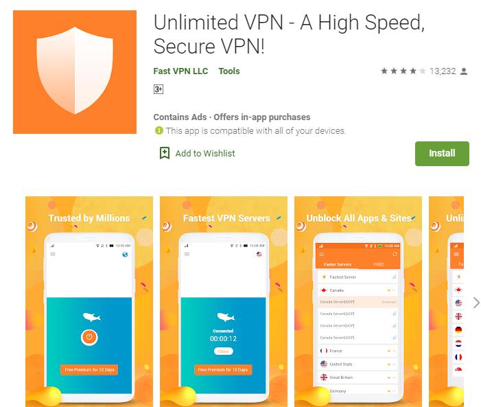 Unlimited VPN Master for mac