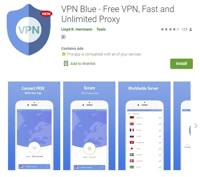 VPN Blue for windows