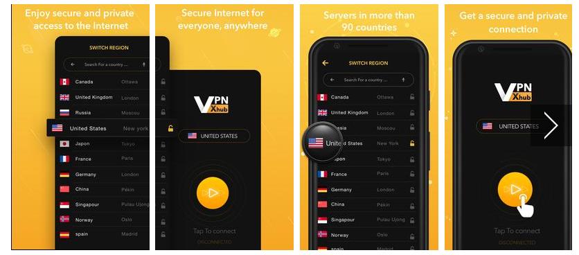VPN xhub for PC