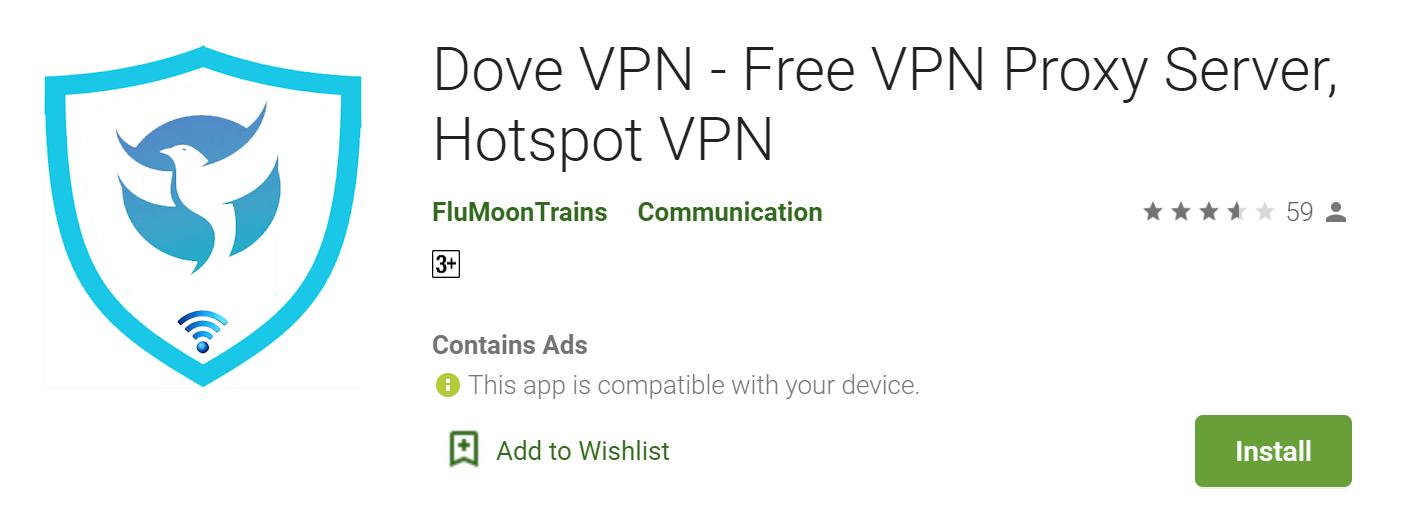 Dove VPN for mac