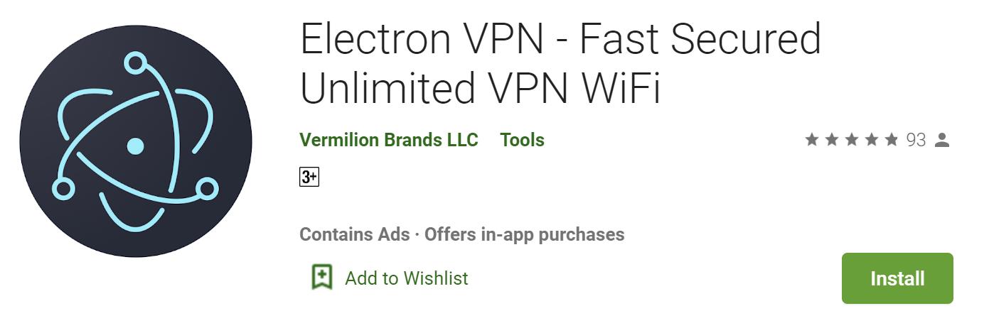 Electron VPN for windows