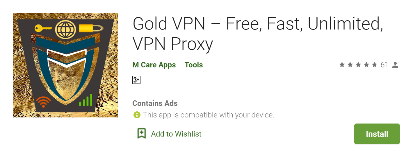 Gold VPN for mac