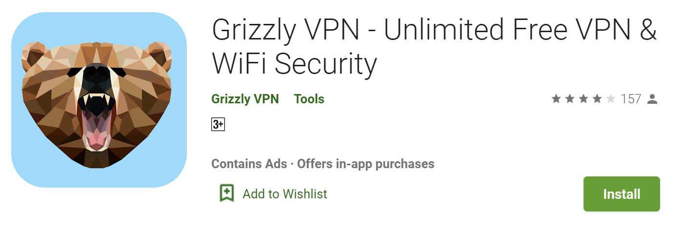 Grizzly VPN for windows