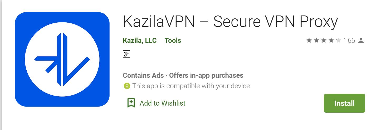 Kazila VPN for mac
