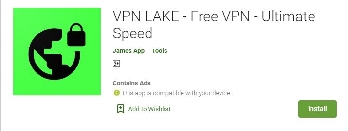 VPN Lake for Windows