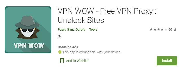 VPN Wow for Mac