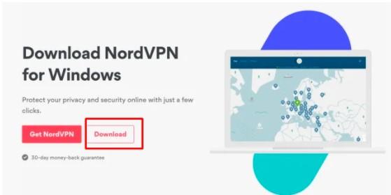 download the NordVPN app