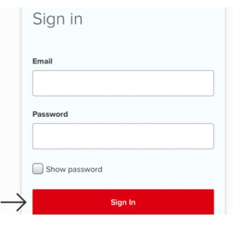 enter sign-in with Email