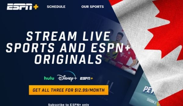 How to Watch Espn+ in Canada