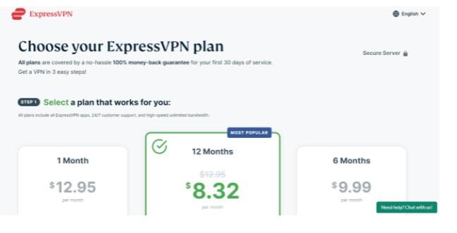 Register Premium VPN