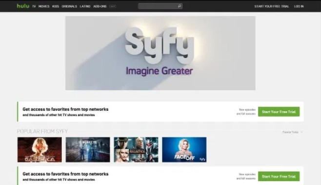 What are the Best Streaming Services for Watching Syfy globally?