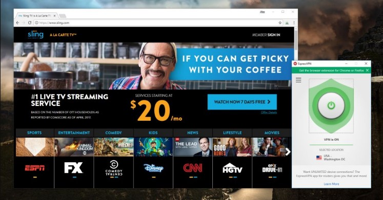 Why You Need a VPN to Watch Sling TV Live Anywhere